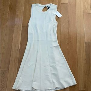 Theory Off White Flowing Dress - S NWT